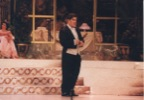 Die Fledermaus by J. Strauss. Sung in German. Teatro Municipal de Santiago, 1998